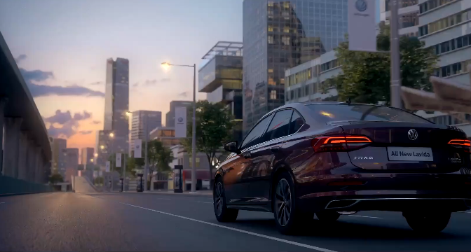 汽车-大众朗逸CGI影片