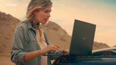 LG gram 笔记本电脑广告[2019][欧美]