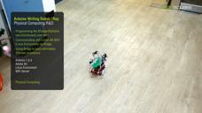 Arduino Writing Robot 人机交互