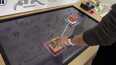 Beat Cube - Sensor Embedded Cube With a Table For Kids
