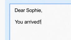 """谷歌广告""""亲爱的索菲"""""""
