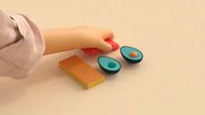 寿司的制作方法 C4D动画版