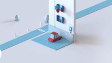 房子汽车2.5D 三维