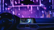 宝马 洗车 泡沫  AMSR 的新体验