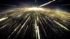 欧莱雅 广告 金色粒子