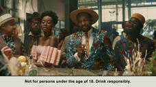 Savanna Jean酒广告 2020
