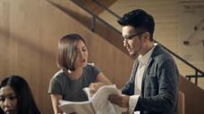 食品-钟汉良香飘飘广告下午茶 办公室