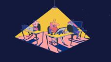 毕业展二维动画 2020