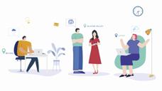 飞书产品动画 视频会议功能 2020
