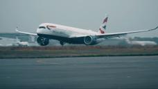 交通-机械工业感很棒 英国航空公司 A350