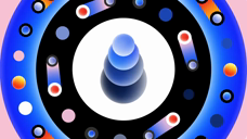 圆形动态图形