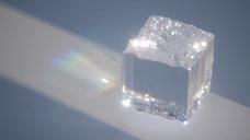 晶体流体液体三维动画展示