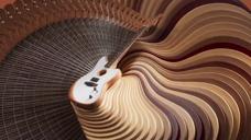 吉他扭曲创意动画