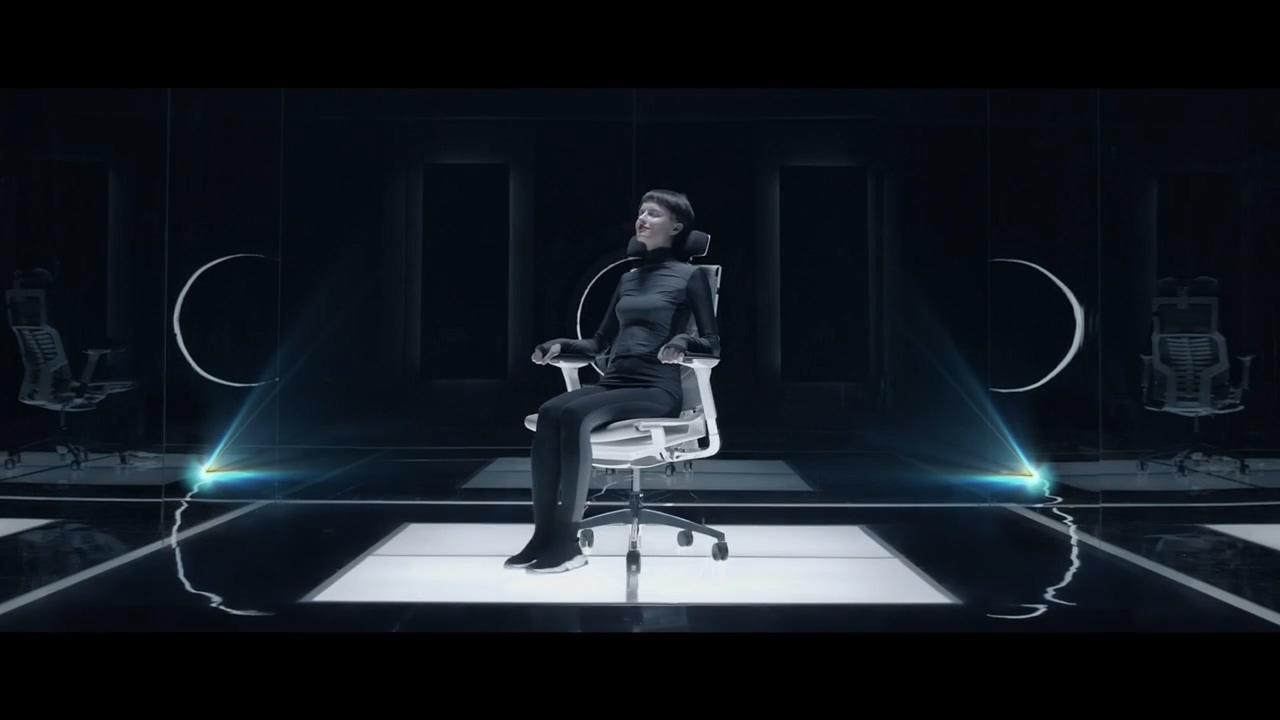 Comfort 座椅广告科技感